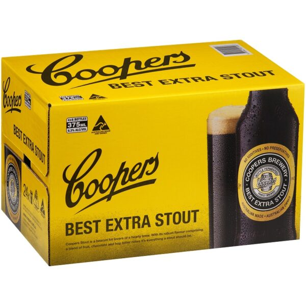 Coopers Best Extra Stout Case