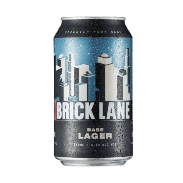 Brick Lane Base Lager Can