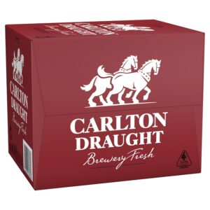 Carlton Draught Longneck 12 x 750