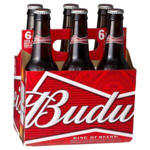 Budweiser 6 Pack