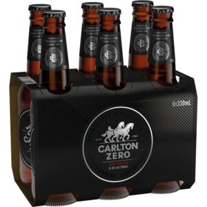 Carlton Zero Stubbies 6 Pack