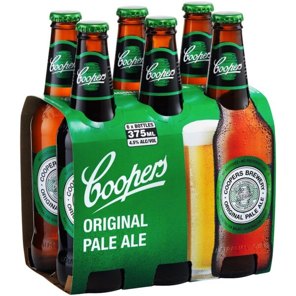 Coopers Pale Stubbies 6 Pack