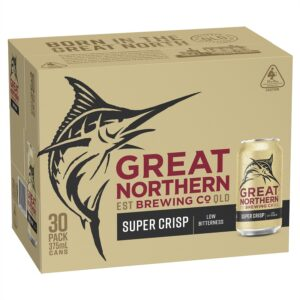 Great Northern Super Crisp Cans Block