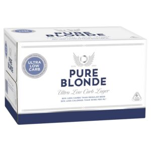 Pure Blonde Low Carb Case