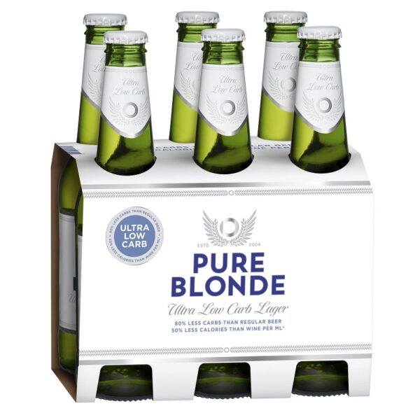 Pure Blonde Low Carb 6 Pack