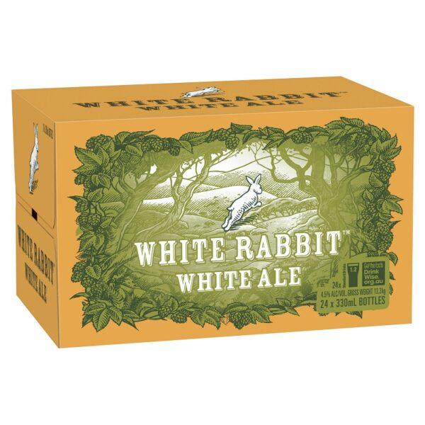 White Rabbit White Ale Case