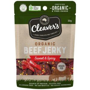Cleavers Organic Sweet Spicy Jerky